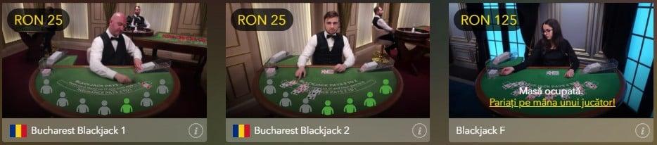 blackjack cu dealeri reali - baumbet casino