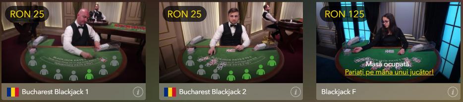 Jocuri cu dealeri live la BaumBet Casino