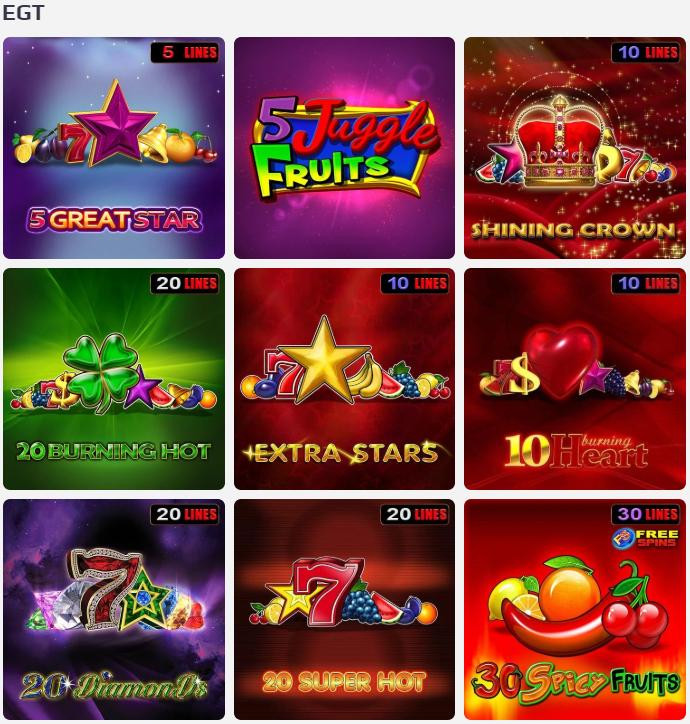 Furnizorii de jocuri NetBet Casino