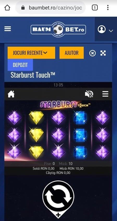 starburst baumbet casino mobil