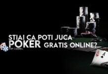 Stiai ca poti juca poker gratis online