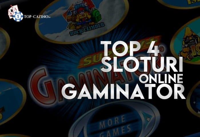 Top 4 sloturi Gaminator online