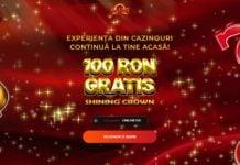 bonus 100 ron gratis la maxbet cazino