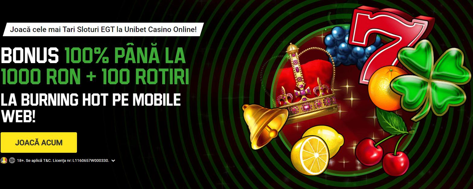 Unibet Casino – recenzie & bonusuri