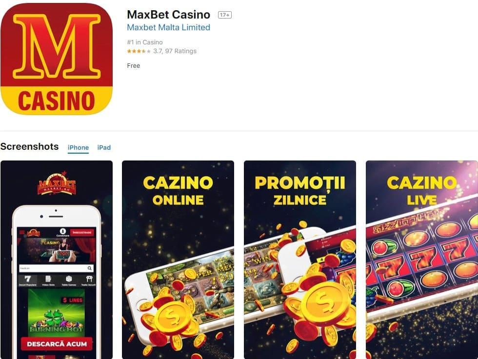 aplicatia maxbet casino