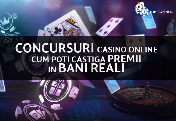 concursuri casino online cum poti castiga premii in bani reali