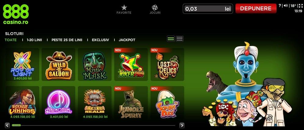 jocuri 888 casino