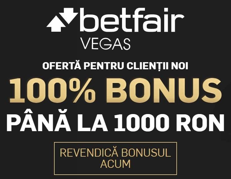 oferta bonus betfair cazino