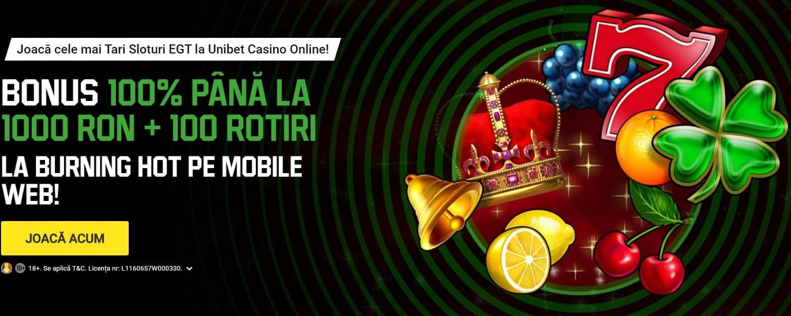oferta bonus unibet casino online