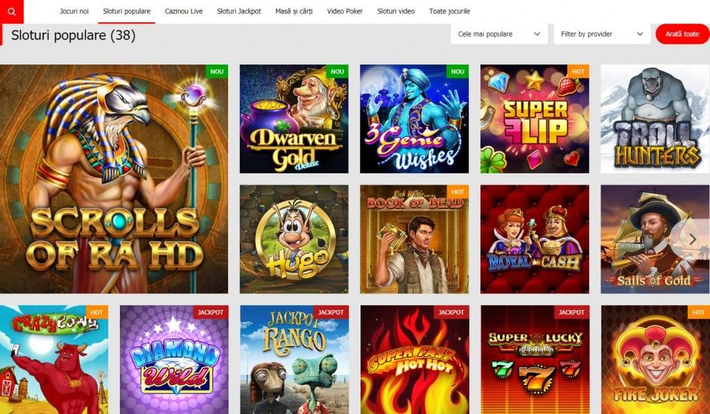 sloturi video winmasters casino