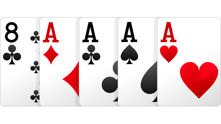 for of a kind poker