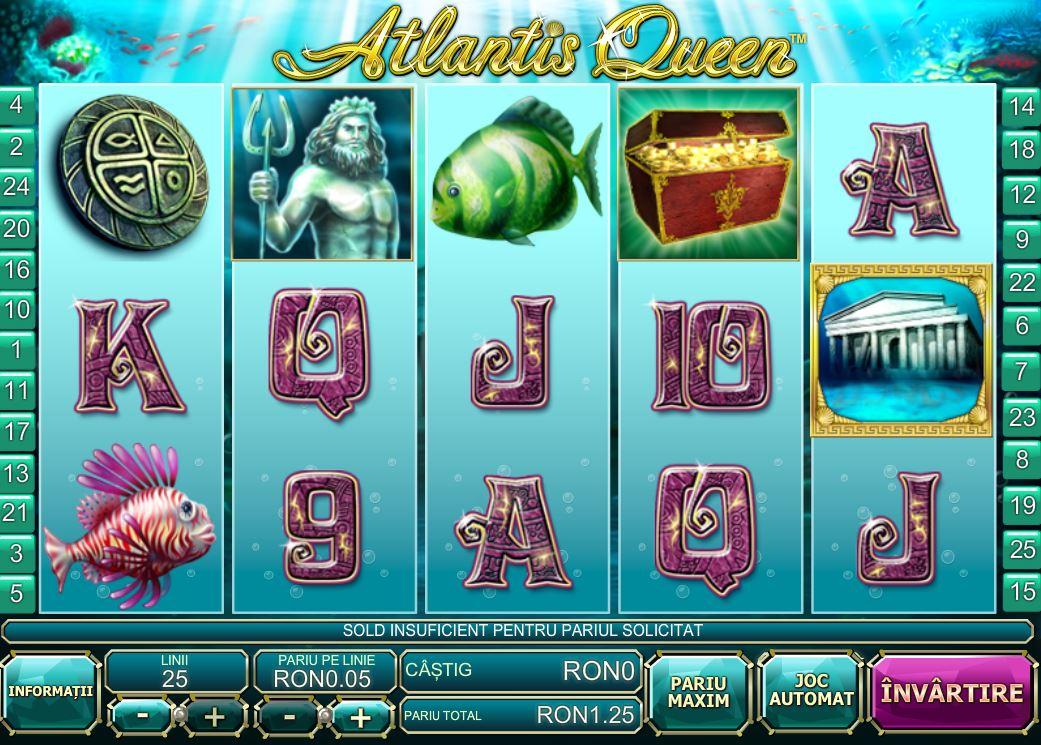 atlantis queen jocuri playtech