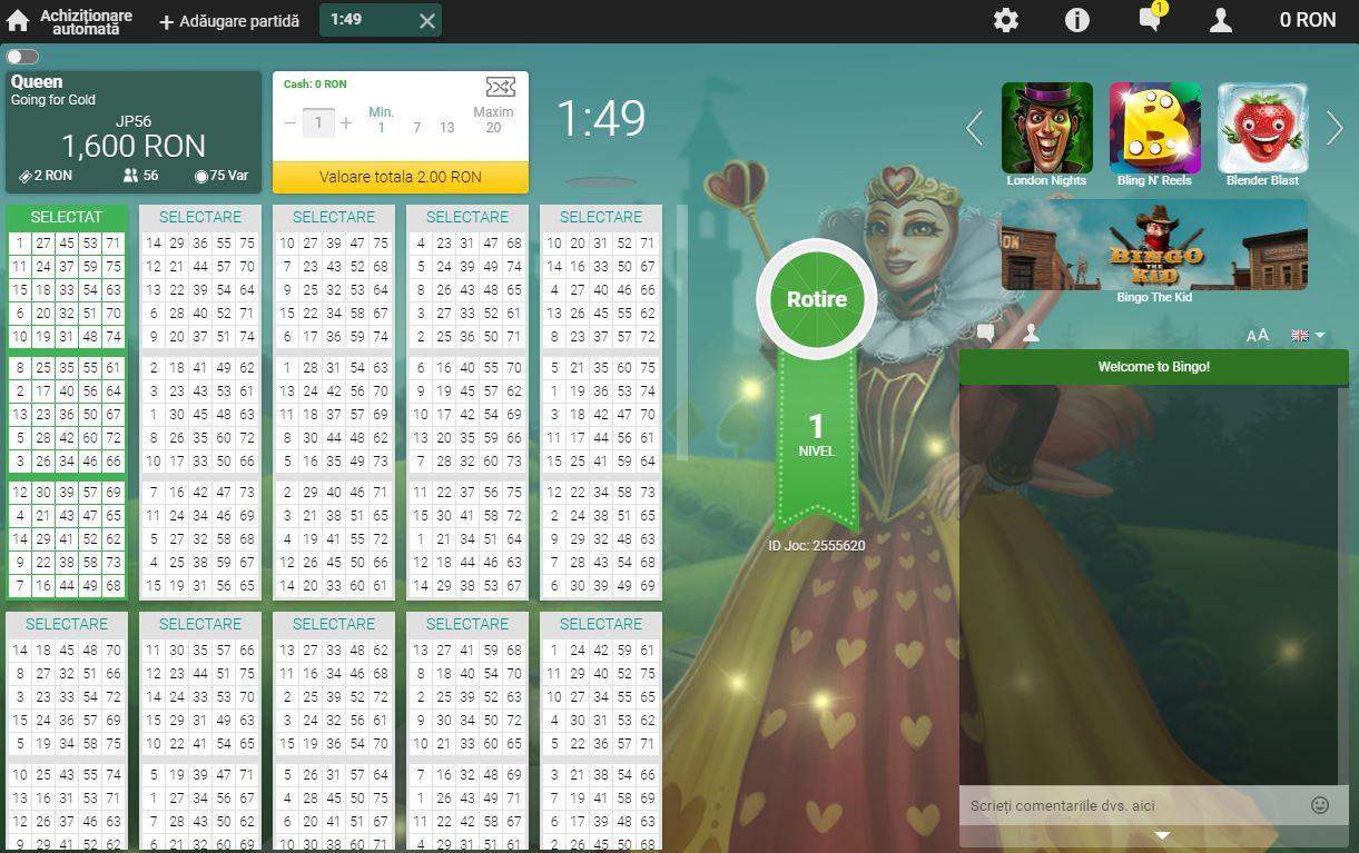 camera bingo online unibet