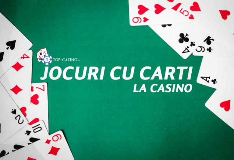 Jocuri cu carti la casino