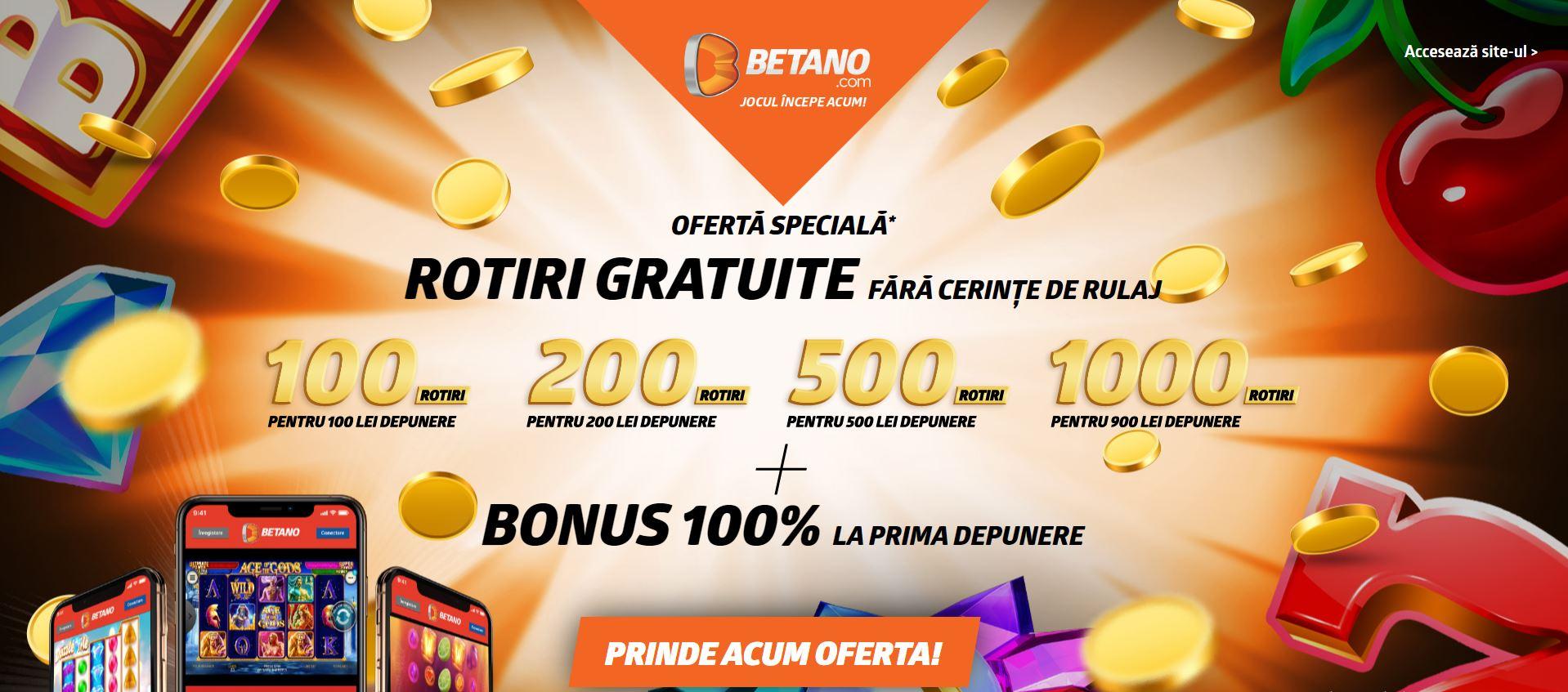 oferta bonus betano casino iunie 2020