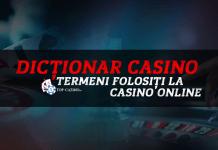 dictionar casino termeni folositi la casino online
