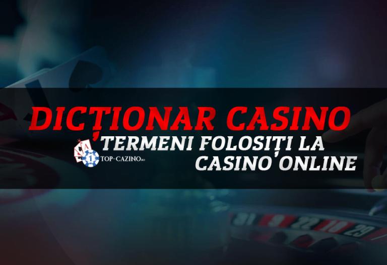 Dictionar casino – termeni folositi la casino online