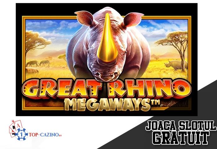 Great Rhino Megaways – Joaca Gratuit
