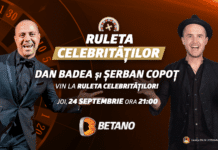 ruleta celebritatilor la betano casino