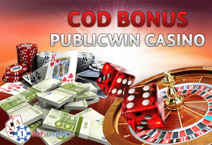 Cod bonus PublicWin