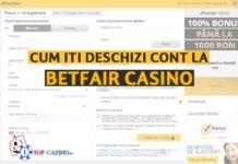 cum iti deschizi cont la betfair casino online
