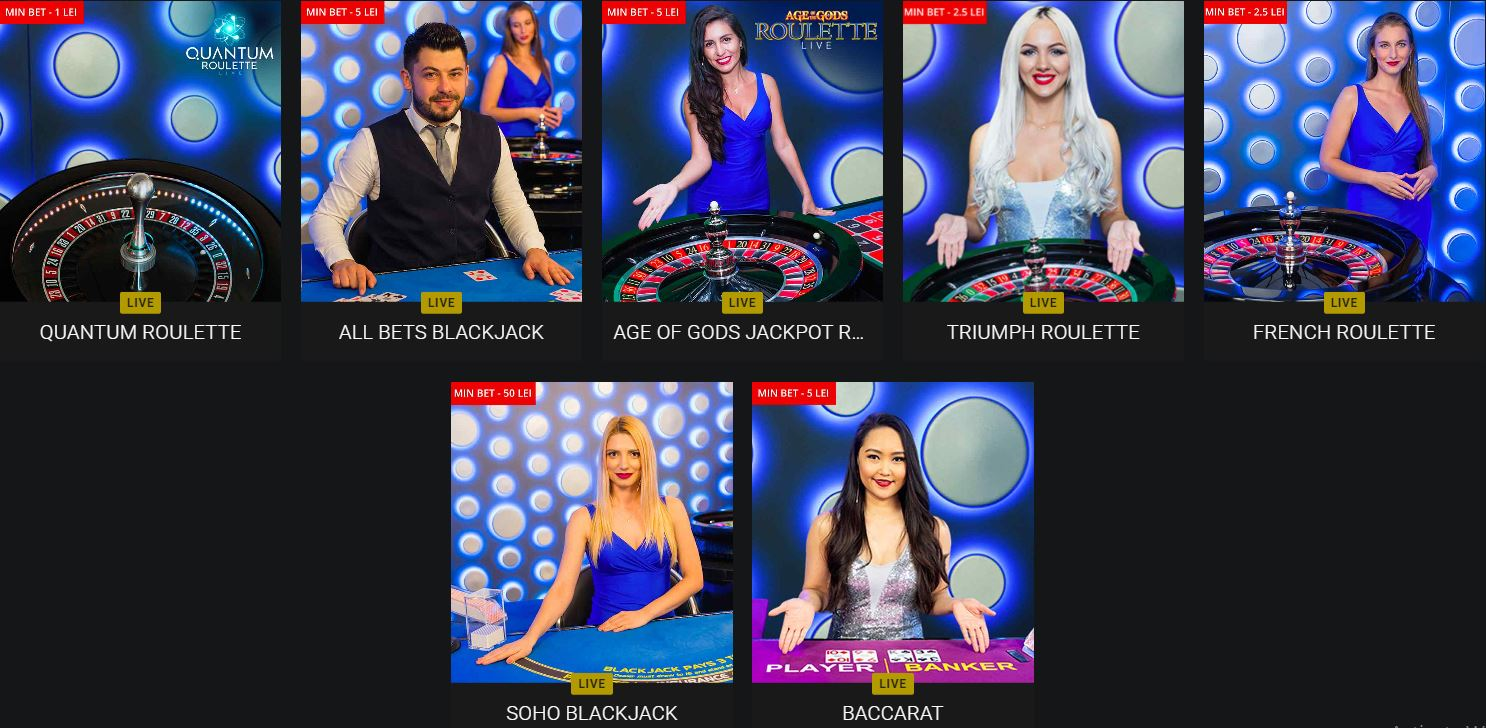 fortuna live casino online