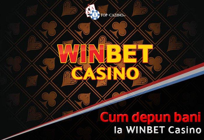 Cum depun la Winbet Casino