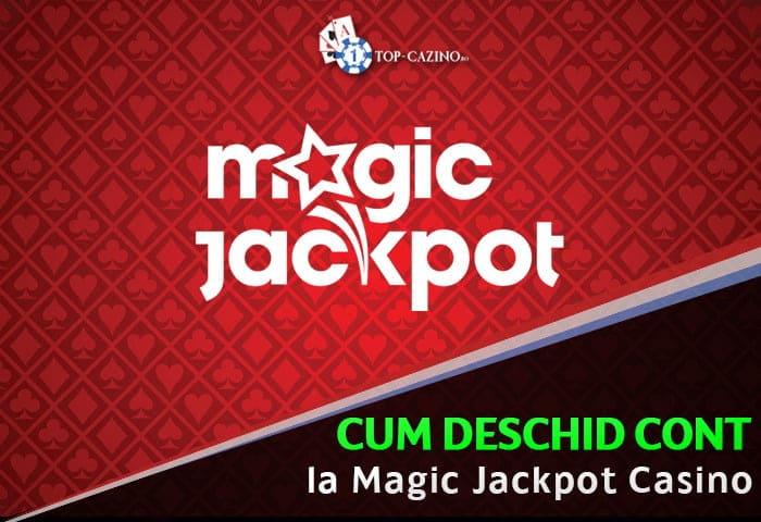 Creare cont Magic Jackpot (inregistrare)