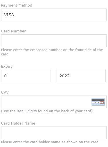 Detalii card bancar