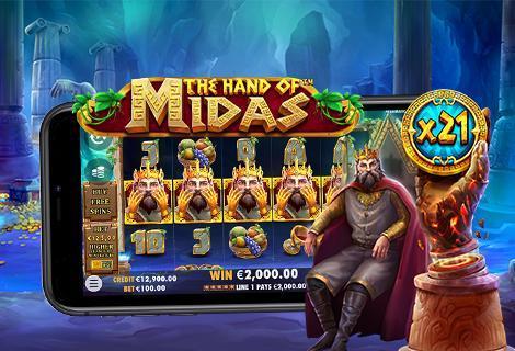 the hand of midas pragmatic play