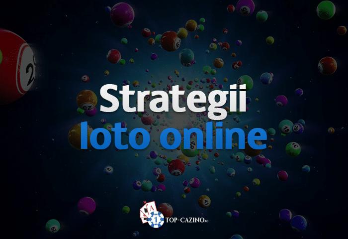 Strategii Loto Online