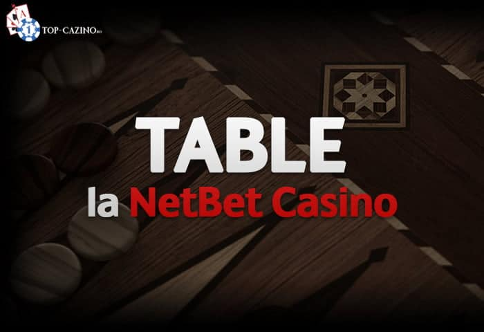 Table pe bani la NetBet Casino