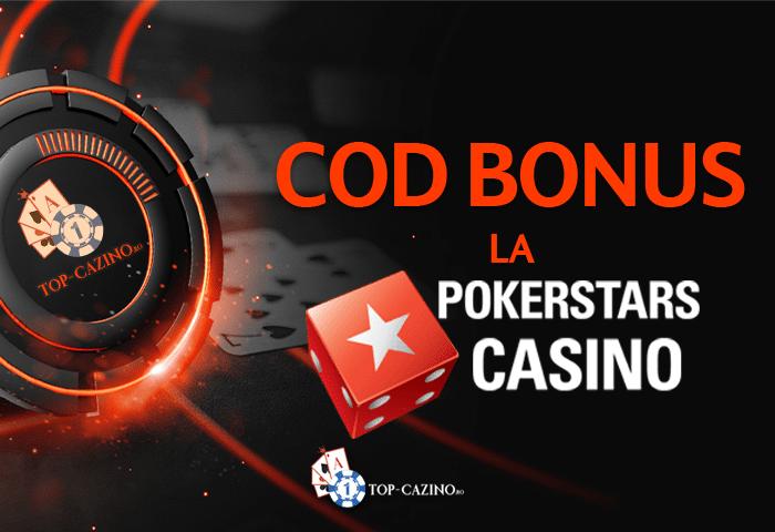 Cod bonus PokerStars Casino