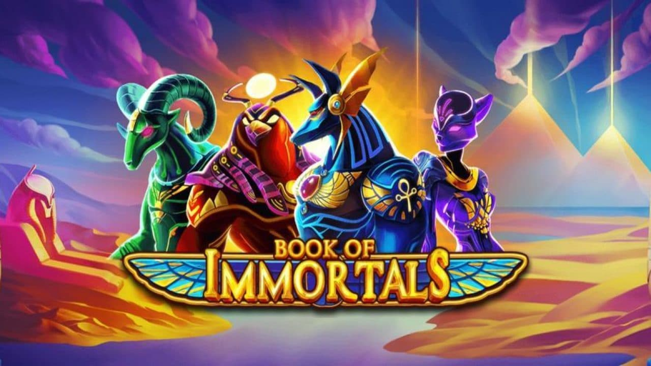 Book of Immortals in cazinouri iSoftBet