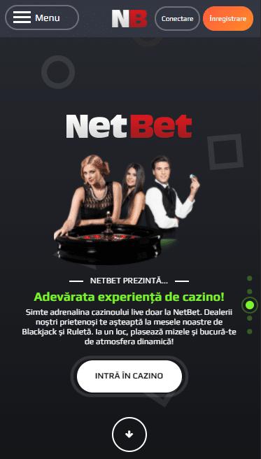 NetBet Casino Live mobil