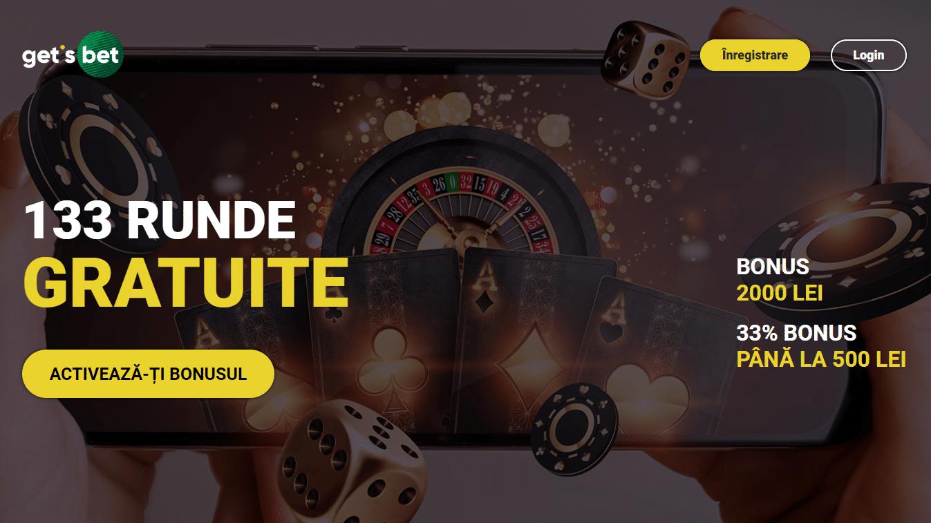 Bonus Get's Bet Casino pentru clientii noi