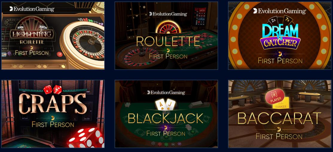 Mr Bit Casino Live