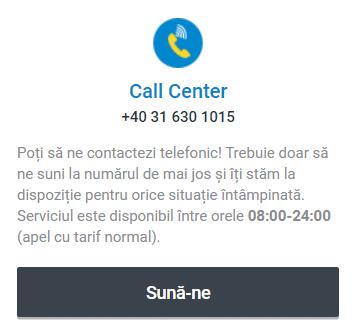 Telefon Betano